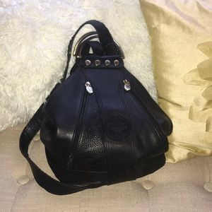 Valentina Genuine Leather backpack purse
